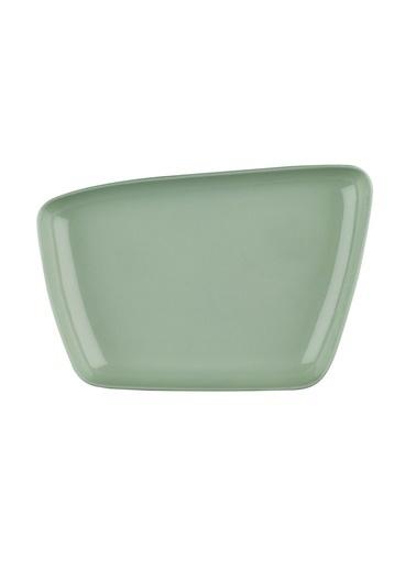 Kütahya Porselen Arp 26X17 Cm 2″Li Çukur Tabak Yeşil Yeşil